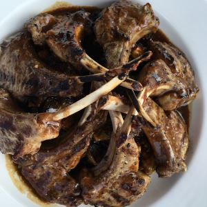 Spice-Marinated and Grilled Lamb Chops