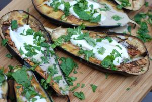 Herb Grilled Eggplant Slices