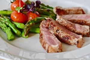 Grilled Pork Tenderloin with Peach-Mustard Sauce