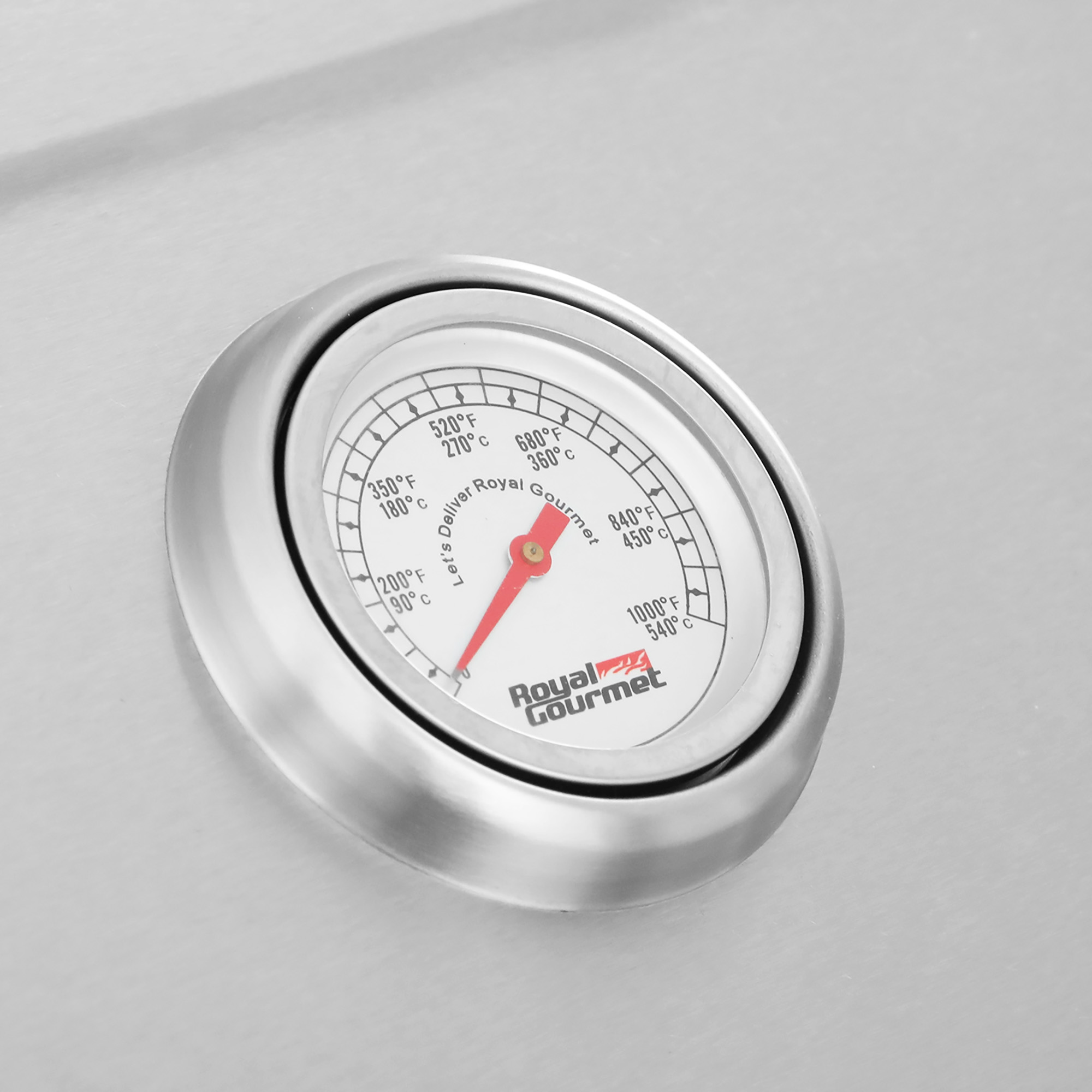Lid-mounted Thermometer